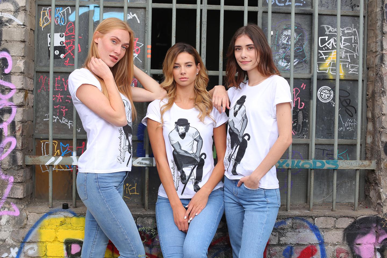 Großstadtaffe_T-Shirt-Frauen